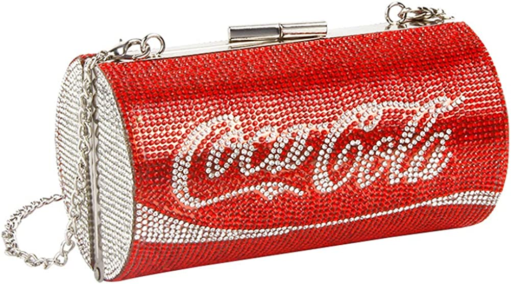 Surprise price Mogor Rhinestone Crystal Sparkly Max 84% OFF Clutch Bling Cros Purse Glitter