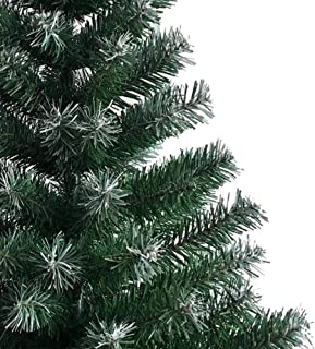 Yamybox 6FT Christmas Tree, with an Upgraded Thickened Standing Cap, Can be stably Decorated on The Floor, Christmas Tree Iron Legs, White PVC 650 Branches, Christmas Tree,Green