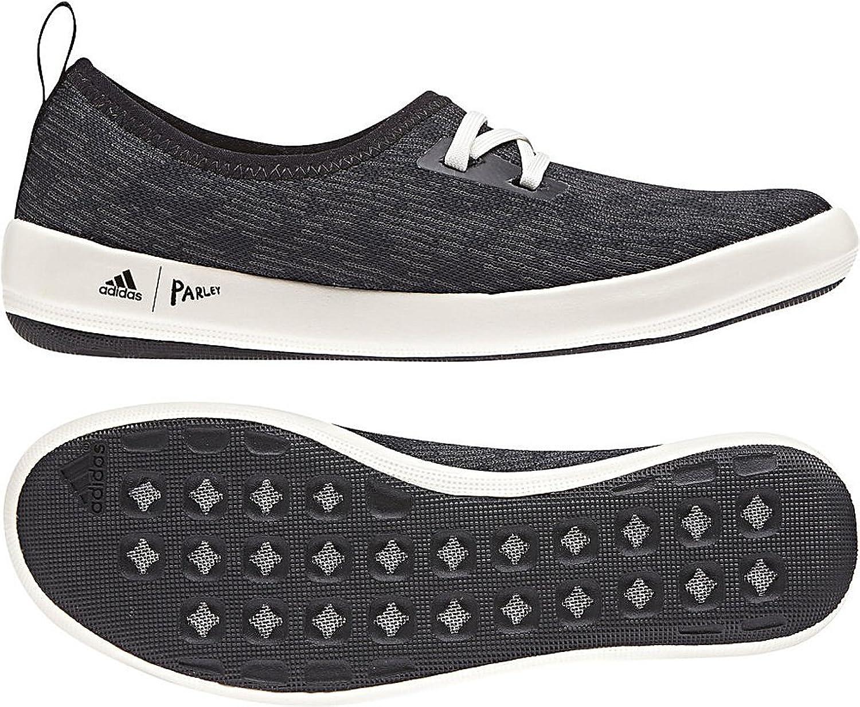 Adidas outdoor donna& 39;s Terrex CC Boat Sleek Parley nero autobon Chalk bianca 7 B US