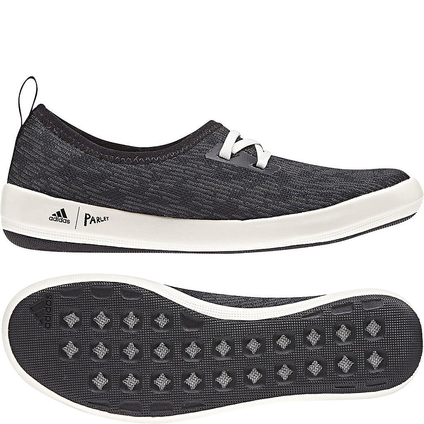 adidas outdoor Women's Terrex CC Boat Sleek Parley Black/Carbon/Chalk White 7 B US