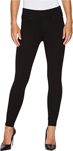 Liverpool - Farrah Pull-On High Waist Ankle Leggings in Silky Soft Ponte Knit in Black