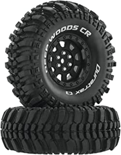 "Duratrax Deep Woods CR C3 Mounted 1.9"" Crawler Tires, Black (2), DTXC4026"