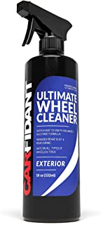Carfidant Ultimate Wheel Cleaner Spray - Premium Rim & Tire Cleaner - Safe for all wheels and rims! - Removes Brake Dust! ...