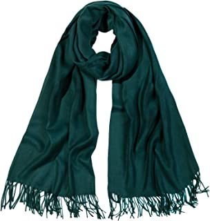 SOJOS Womens Large Soft Cashmere Feel Pashmina Shawls Wraps Winter Scarf SC304 S306
