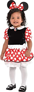 Red Minnie Mouse Halloween Costume for Babies, 12-24 M, Includes Accessories