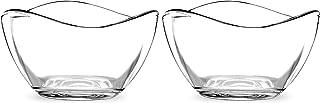 Portmeirion Ambiance Glass Bowl, Set of 2, 2.75