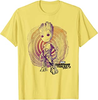 Guardians Vol. 2 Groot Watercolor Swirl T-Shirt C1 T-Shirt