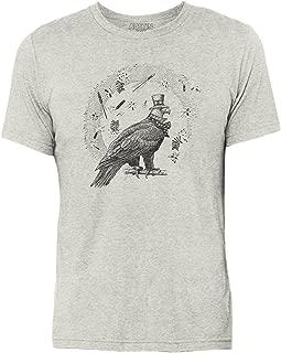 4th of July Eagle Triblend Short Sleeve Unisex T Shirt