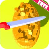 Cut Slice With Knife 3D
