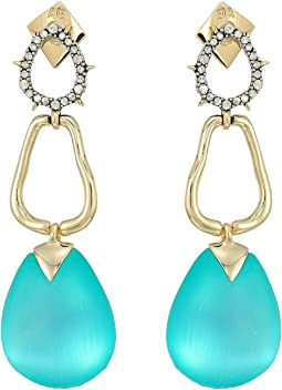 Alexis Bittar - Lucite Drop Post Earrings