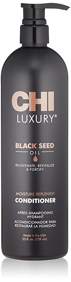 人里離れた遡る小屋CHI Luxury Black Seed Oil Moisture Replenish Conditioner 739ml/25oz並行輸入品