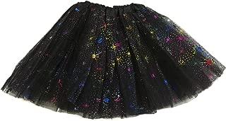 Rush Dance Ballerina Recital Colorful Halloween Space Moon Star Costume Tutu