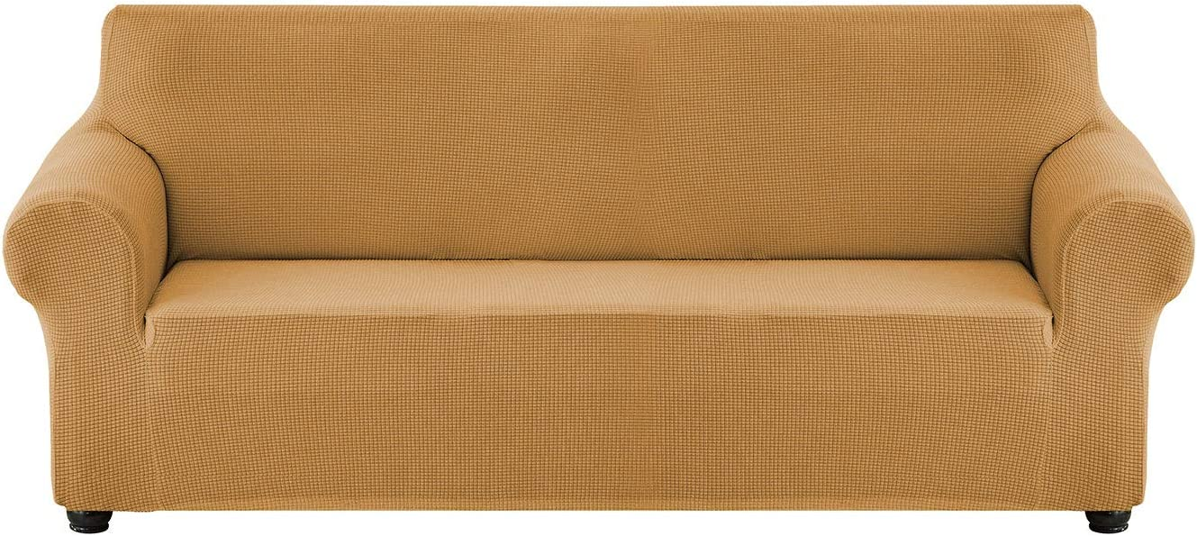 TCpick 店舗 Rich Velvet Couch Cover Stret Waterproof Stretch 2 Pieces 新作入荷