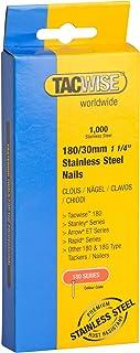 Tacwise 1067 roestvrijstalen nagels 180/30 mm (1.000 stuks), 30 mm, 1000