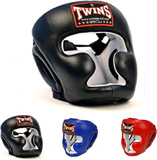 Twins Special Headgear Head Guard for Protection in Muay Thai, Boxing, Kickboxing, MMA