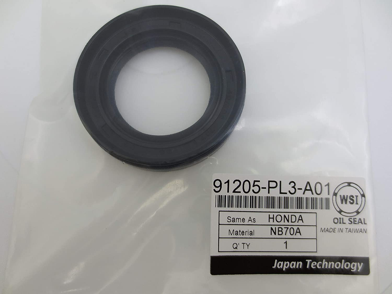 WSI Max 58% OFF 91205-PL3-A01 Oil Seal For Shaft Drive Houston Mall Front for Honda