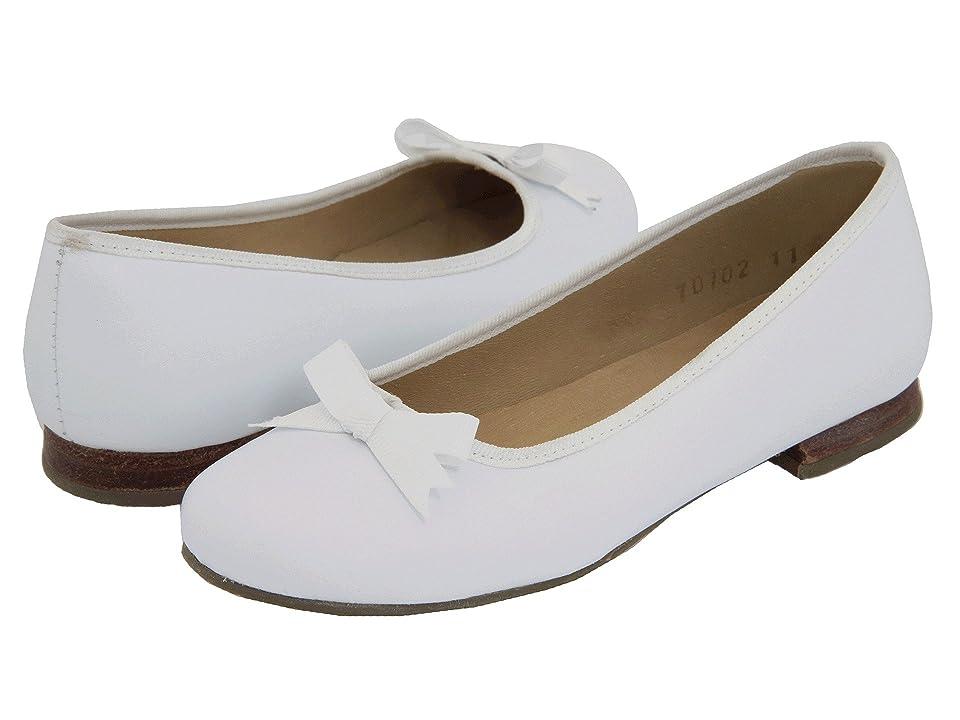 Vintage Style Children's Clothing: Girls, Boys, Baby, Toddler Elephantito - Paris Flat ToddlerLittle KidBig Kid White Girls Shoes $73.00 AT vintagedancer.com