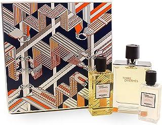 Hermes Terre Dhermes by Hermes for Men - 3 Pc Gift Set  EDT Spray 220ml