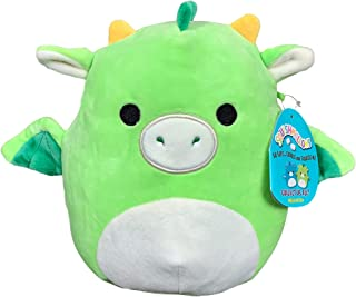 Squishmallow 8 Inch Dexter The Dragon Stuffed Animal, Super Pillow Soft Plush Toy Pal, Green