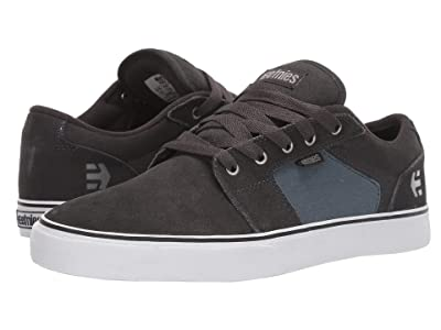 etnies Barge LS (Dark Grey/Blue) Men