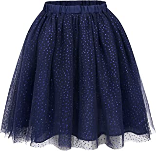 Bonny Billy Girls Classic Layers Tulle Tutu Sparkling Skirt