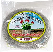 RootGuardTM Digger's 5 Gallon Speed Baskets, Gopher Wire Baskets, 2-Pack