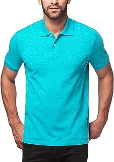 Polo Shirt for Men, Piqué Knitted Fabric (no Jersey). Longer Back-Hem, Short Sleeve M19