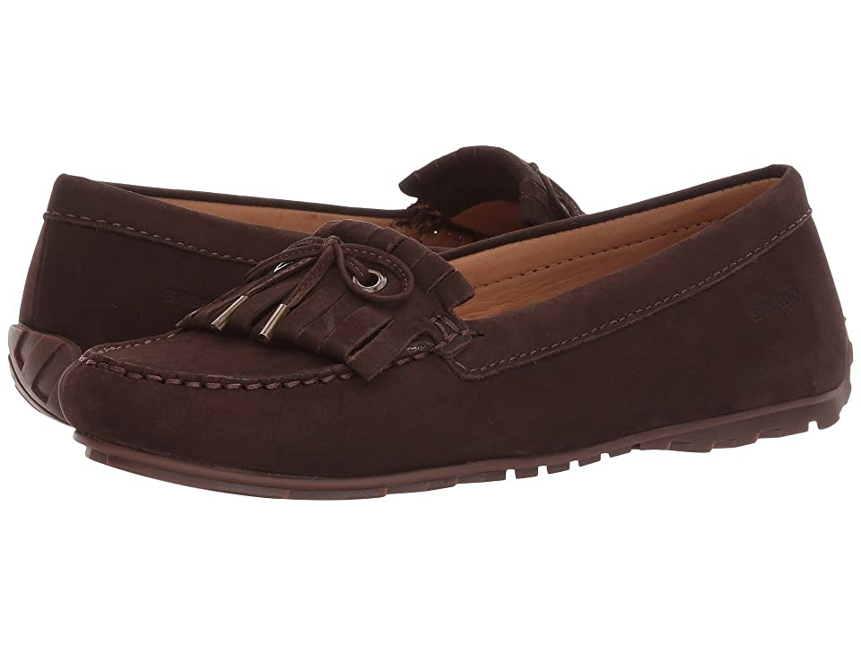 Sebago Harper Kiltie Tie (Dark Brown Nubuck) Women