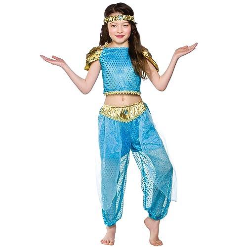 2984c9fd907a Girls Arabian Princess Costume Fancy Dress Up Party Halloween Outfit Kids  Child