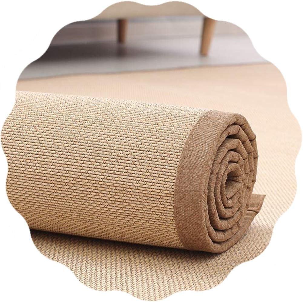 Max 78% OFF JIAJUAN Ranking TOP12 Braided Bamboo Rug Widen Multipurp Edge Non-Slip Design