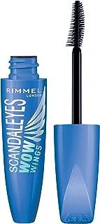 Rimmel Wow Wings Mascara, Waterproof Black, 0.4 Fl Oz