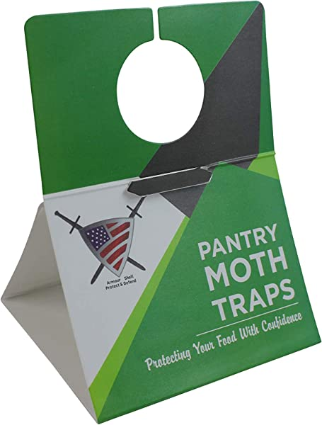 Pantry Moth Traps With Pheromones Pest Trap For Kitchen Closet Eco Friendly Moth Repellent Killer 6 Pack With Unique Hanging Design Non Toxic Formula That Is Safe For Your Family And Long Lasting