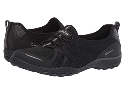 SKECHERS Breathe-Easy Envy Me (Black) Women