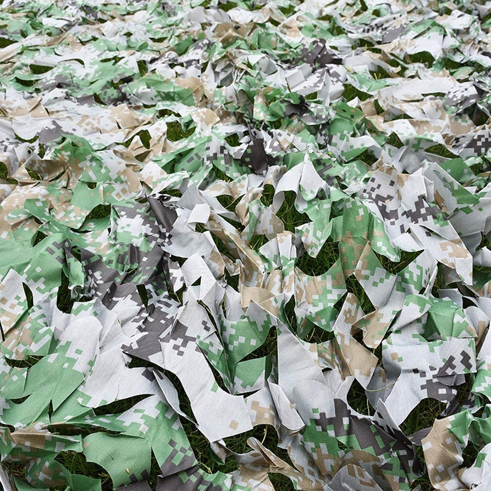 Camo Netting with Mesh Backing 6X8m Ranking TOP17 26ft X 20ft Jungle Digital Max 53% OFF