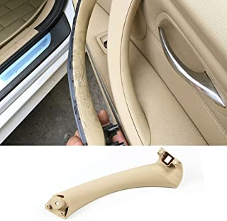 Jaronx Compatible with BMW E90 Beige Door Handles Pull Handle Right