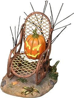 Department 56 6001742 Halloween Village Collections Haunted Porch Rocker Accessory Figurine, Multicolor