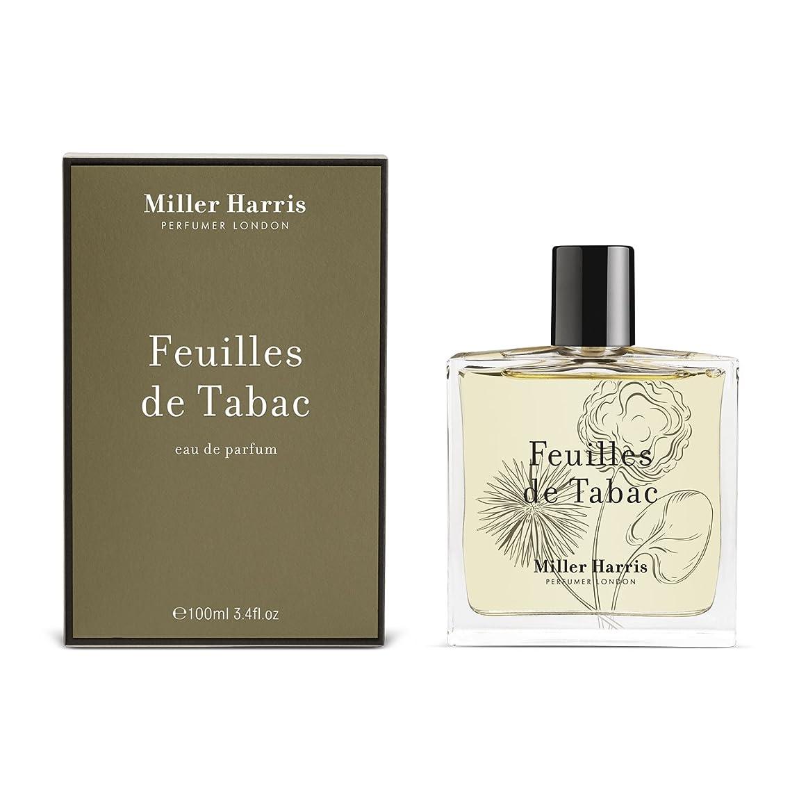 コンペ支配するクマノミミラーハリス Feuilles De Tabac Eau De Parfum Spray 100ml/3.4oz並行輸入品