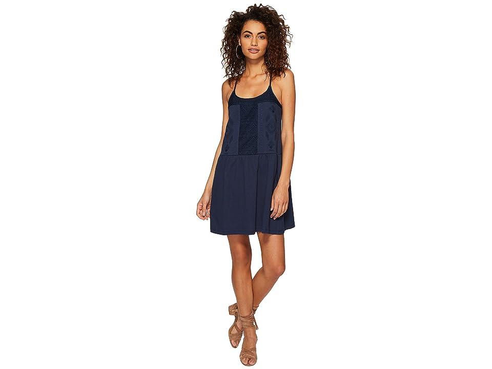 Roxy White Beaches Dress (Dress Blues) Women