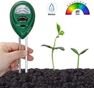 Orlegol Bodentester, Boden Feuchtigkeit Meter, 2-in-1 Pflanze Tester, Bodenmessgerät..