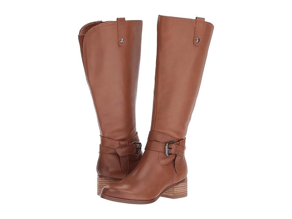 Naturalizer Dev Wide Calf (Saddletan Leather) Women