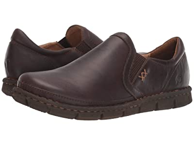 Born Sawyer (Dark Brown (Castano) Full Grain) Men