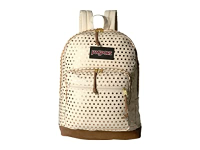 JanSport Right Pack Expressions (Gold Polka Dot) Backpack Bags