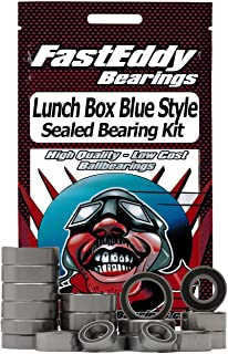 Tamiya Lunch Box Blue Style (CW-01) Sealed Bearing Kit