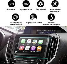 YEE PIN 2018 Subaru Crosstrek Starlink 8Inch Navigation Protector,Touch Sensitivity Anti-Explosion Scratch Resistance Tempered Glass