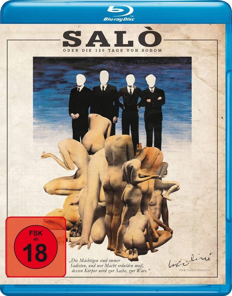 Salo oder die 20 Tage von Sodom [Blu ray] Amazon.de Bonacelli ...