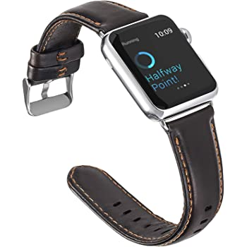 Amazon Com U191u Band Compatible With Apple Watch 38mm 42mm Stainless Steel Wristband Metal Buckle Clasp Iwatch 40mm 44mm Strap Bracelet For Apple Watch Series 4 3 2 1 Sports Edition Silver Black 42mm