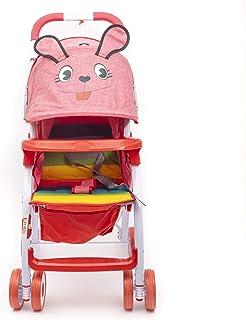 BABY PLUS BP8732 Portable Baby Stroller, Red - Pack of 1, BP8732-RED