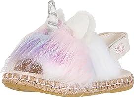 44566277ffa3 UGG Kids Rainbow Unicorn Sandal (Infant Toddler) at Zappos.com
