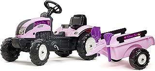 Falk 2056C Traktor und Rac Set 2/5, pink