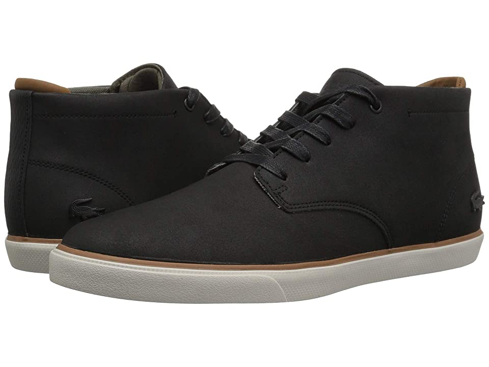 Lacoste Esparre Chukka 318 1 (Black/Brown) Men